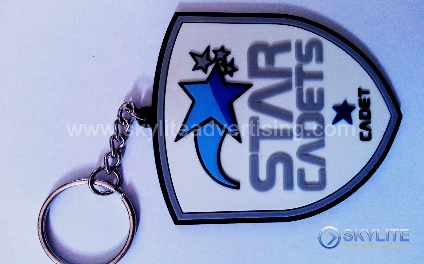 Personalized Silicon Keychains