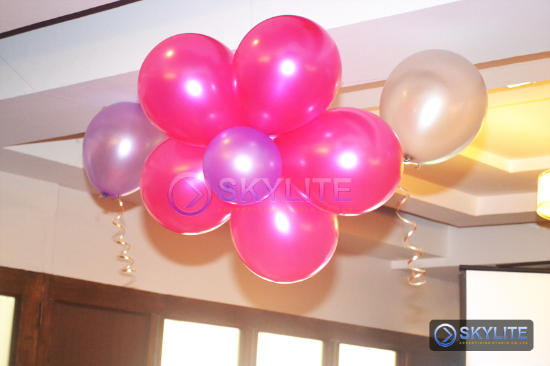 Balloon decor package 4 skylite advertising studio co inc for Balloon decoration packages