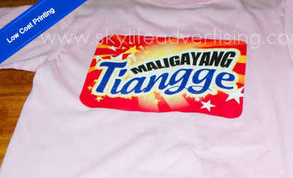 Low Cost T-Shirt Printing
