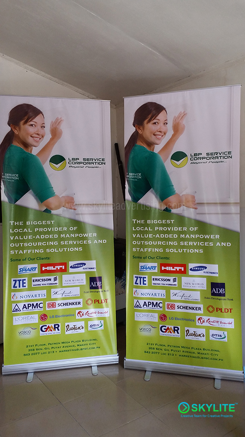 Affordable Pull-up Banner Philippines