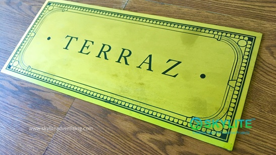 Order Directional Signs