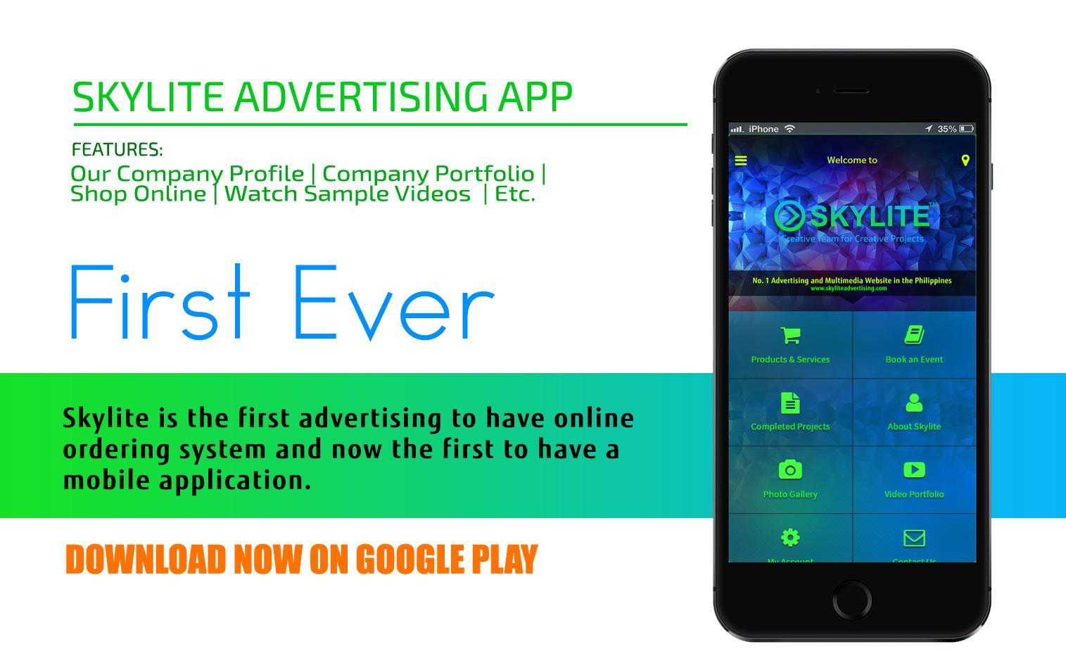skylite_first_ever_app