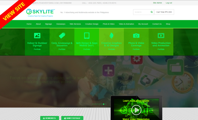 new_ecommerce_website_of_skylite