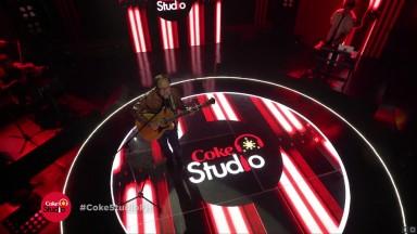 Skylite Team made the Coke Studio Logo Signage 2017