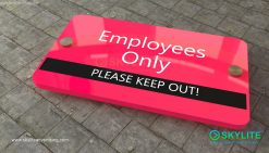 door_sign_6-25x11_painted_versaboard_company_employees_only00002