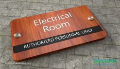 door_sign_6-25x11_purewood_withLaminates_electrical_room00001