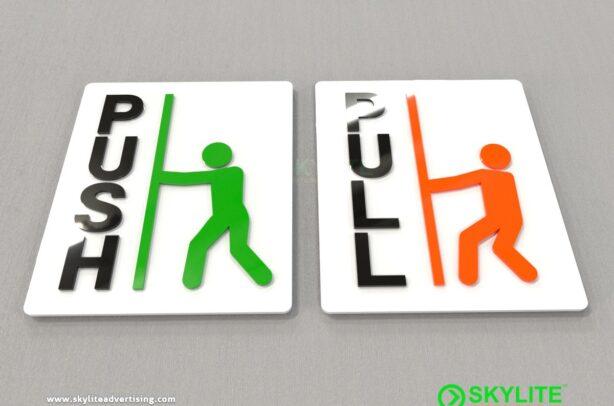 acrylic-push-&-pull-sign-design-three