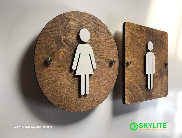 Restroom Sign Maker Philippines