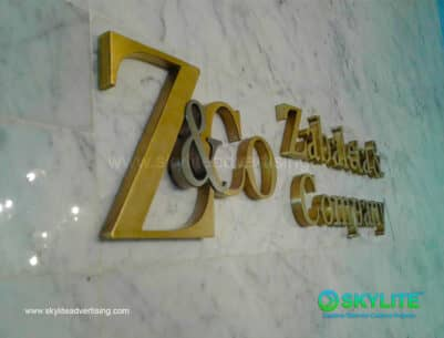 Brass Sign Maker Philippines