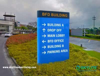 Directional Sign Maker Philippines